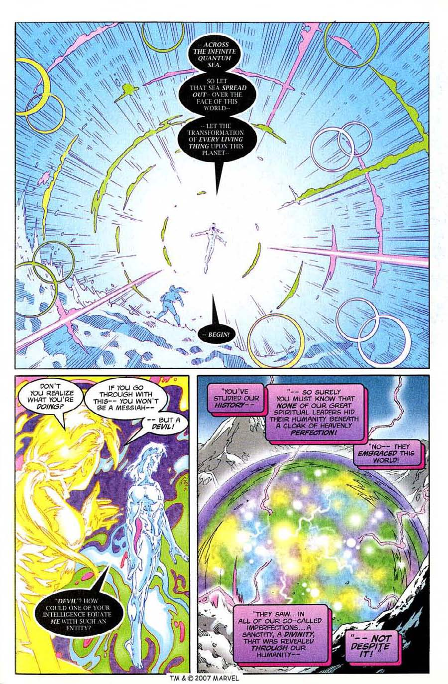 Read online Silver Surfer (1987) comic -  Issue #138 - 29