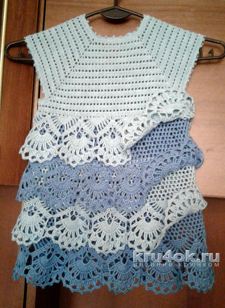 Free Crochet Dress Patterns In English : How to crochet: Crochet baby dress for free crochet ...
