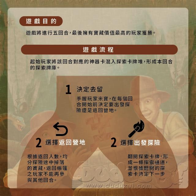 INCAN GOLD 印加寶藏