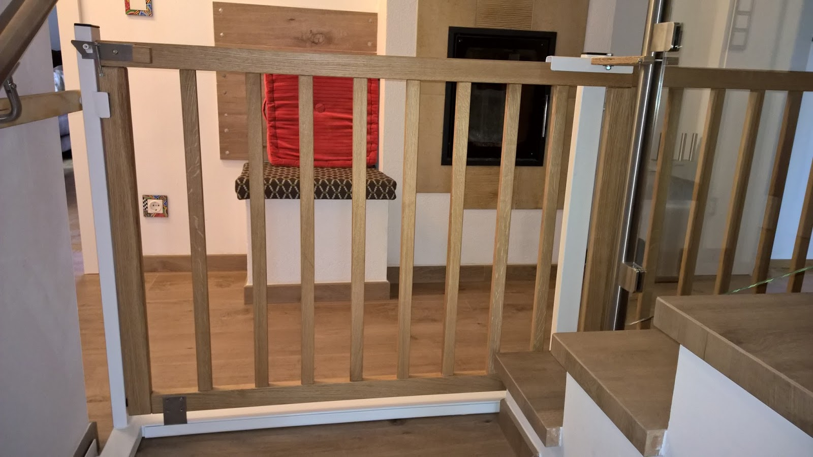 holz und metall ein heimwerkerblog treppenschutzgitter. Black Bedroom Furniture Sets. Home Design Ideas