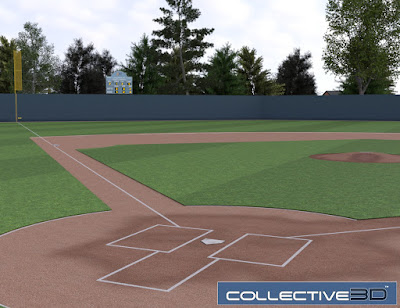 Collective3d Baseball Field