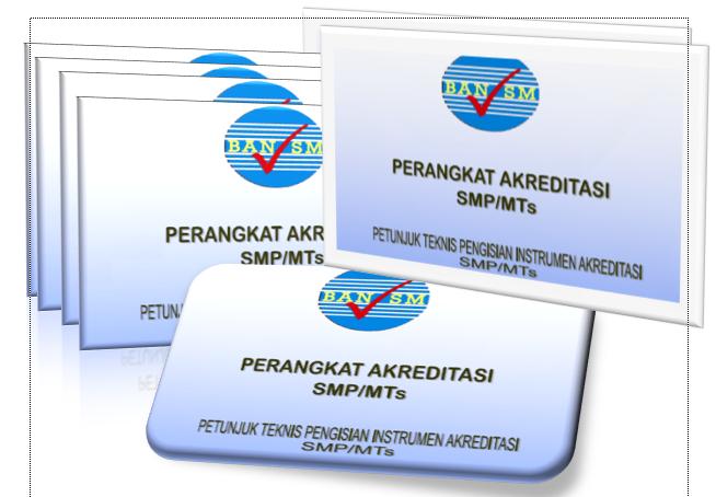 Download Administrasi Akreditasi Jenjang SMP Sederajat Lengkap Gratis