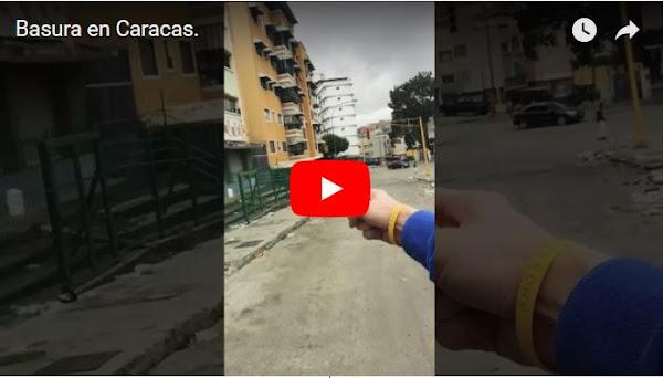 Erika Farias mantiene a Caracas enterrada en basura