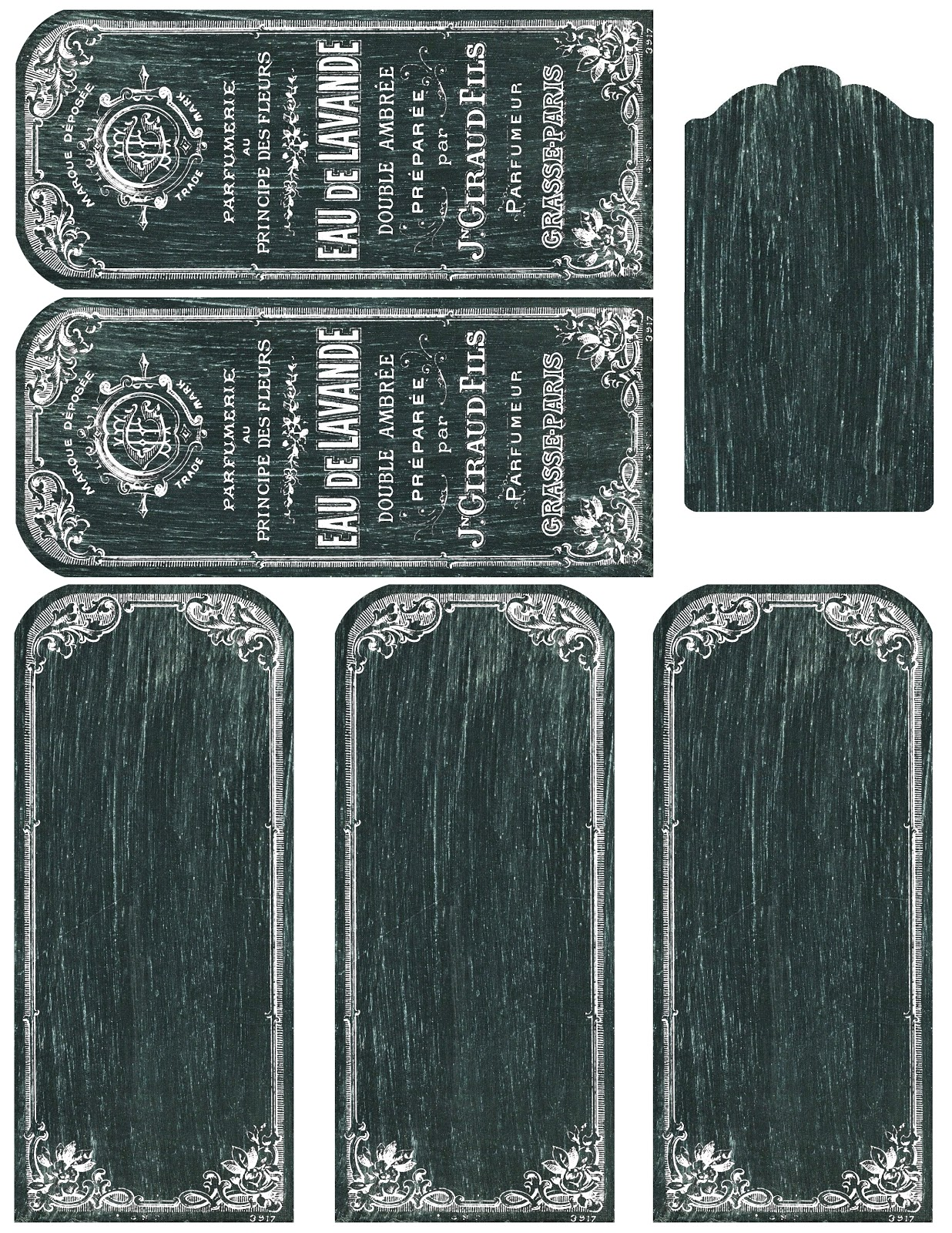 Lilac Amp Lavender Printable Chalkboard Tags Labels And More