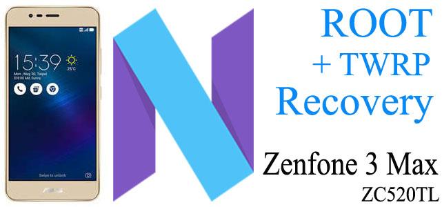 Cara Root Zenfone 3 Max (ZC520TL) Nougat