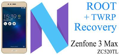 Cara Root Zenfone 3 Max (ZC520TL) Nougat | MT6737M & MT6737T