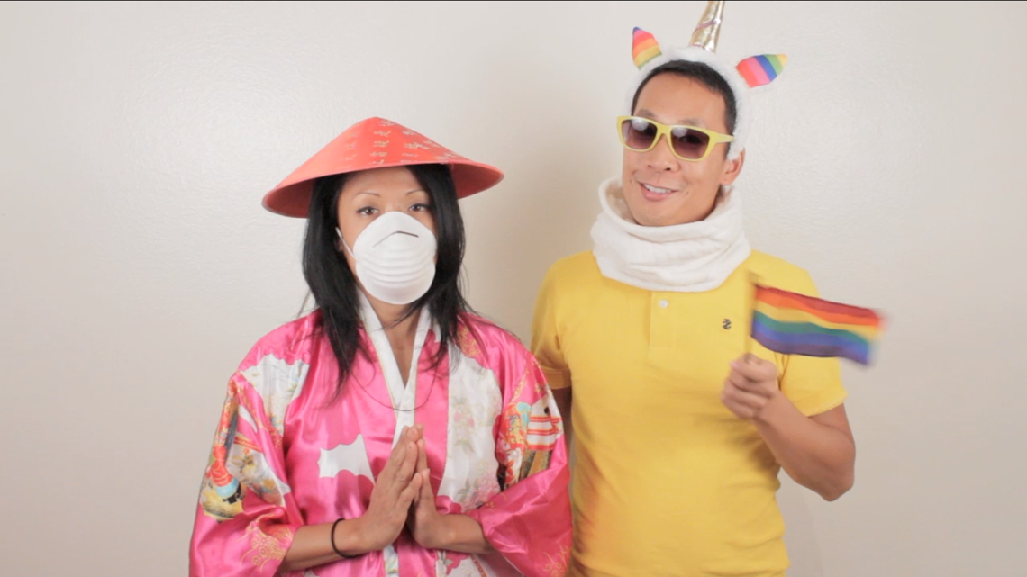 Super-Gay-Asian comedian Kevin Yee and Filipina diva J.Elaine Marcos  combine their unique style of comedy/music/sketch/standup, and promise  audiences plenty ...