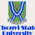 EBSU Post UTME 2016/2017 Registration