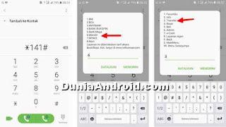 menu pilihan call *141# telkomsel