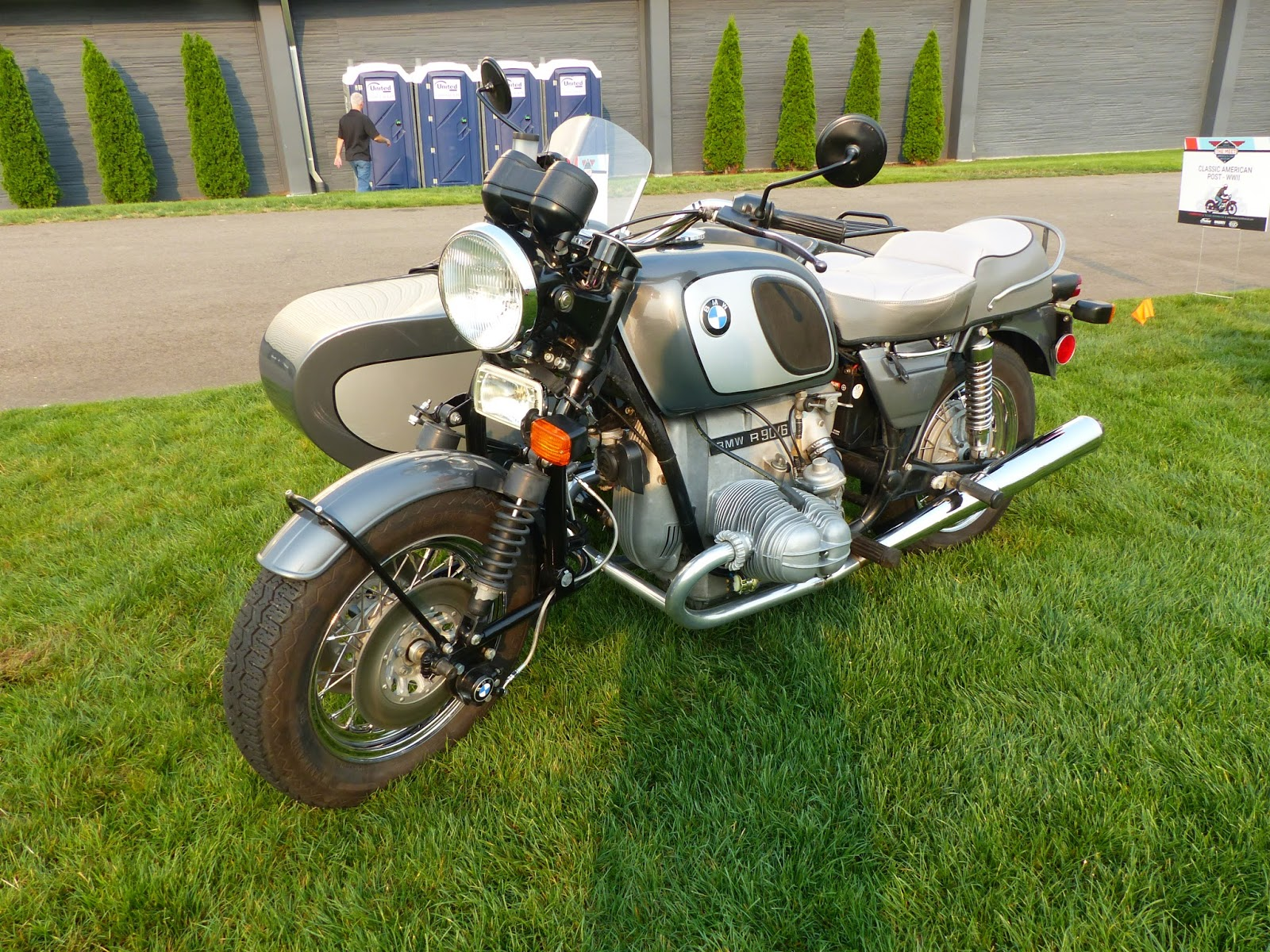 Oldmotodude 1975 Bmw R90 With Sidecar On Display At Quot The