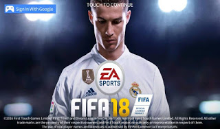 FTS Mod FIFA 18 Ultimate Team By XRTX 11 Apk + obb data