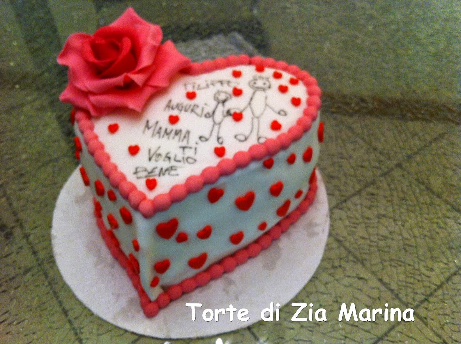 Preferenza Torte di zia Marina: Torta festa della mamma QM32