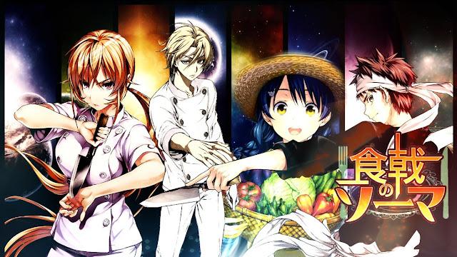 Download Kumpulan Video Anime Shokugeki no Souma BD (Episode 1 – 24) Sub Indo + 2 OVA