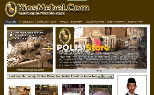Kios Mebel Jepara - Verifikasi Toko Online Aman dan Terpercaya - Polisi Store