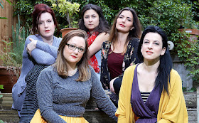 The five founders of SWAP'ra - Kitty Whately, Sophie Gilpin, Ella Marchment, Anna Patalong, Madeleine Pierara