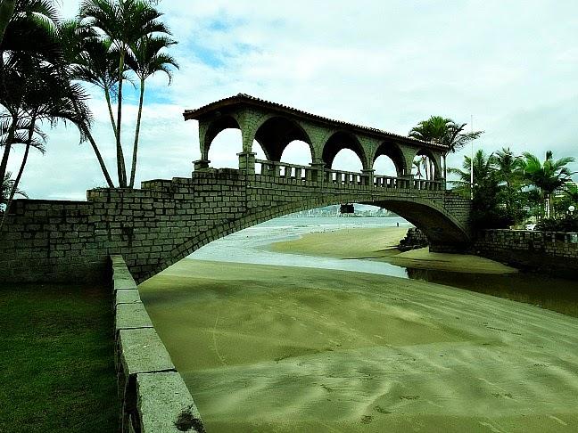 A Ponte dos Suspiros, em Itapema