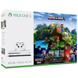 Minecraft Minecract Xbox One S Bundle Media