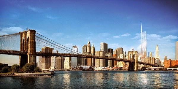 5. ब्रूकलिन ब्रिज, न्यूयॉर्क (Brooklyn Bridge, New York, USA)