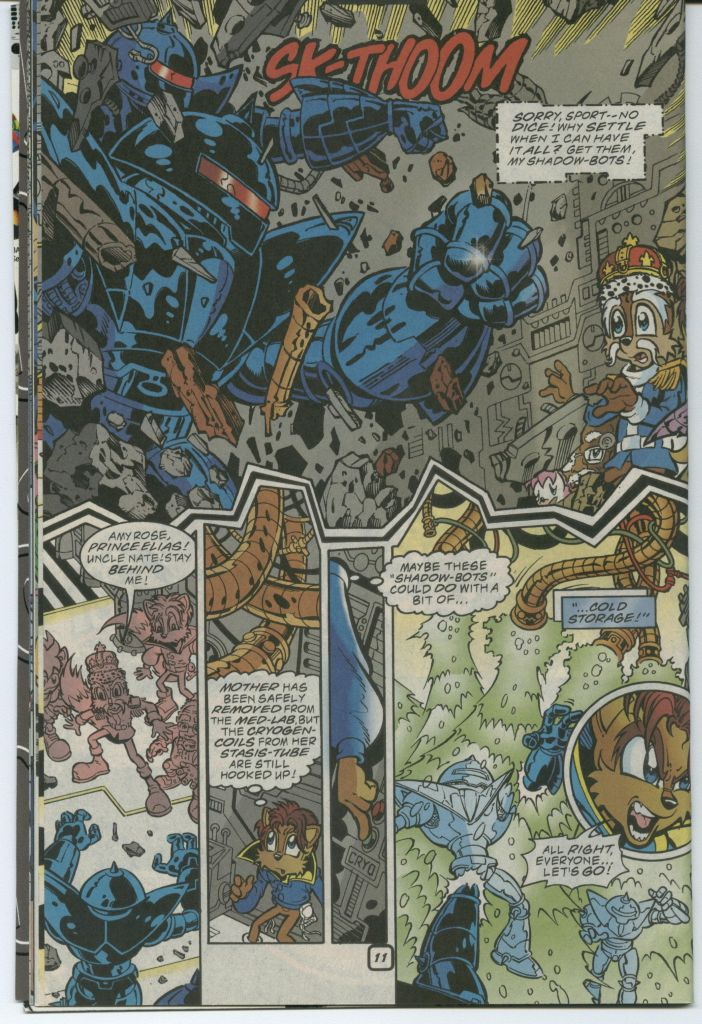Read online Sonic The Hedgehog comic -  Issue #75 - 16