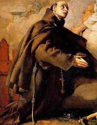 San Pascual Bailon orando