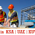 Urgently Required for a Leading Companies in Saudi Arabia, UAE & Kuwait