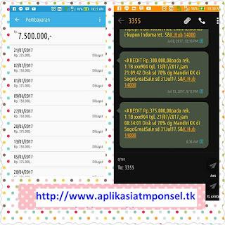 Aplikasi Atm ponsel adalah aplikasi android penghasil uang dengan mudah