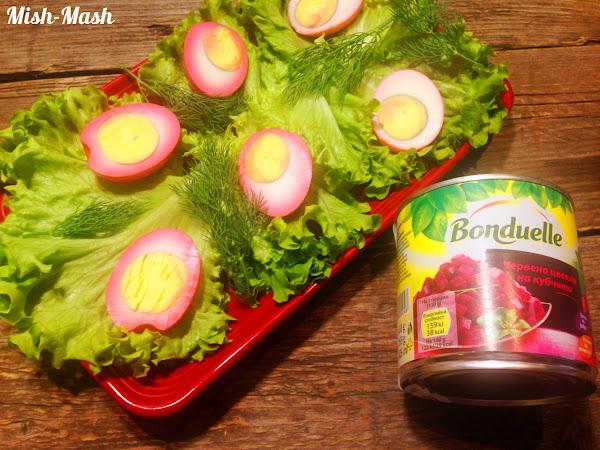 Великденска яйчена салата