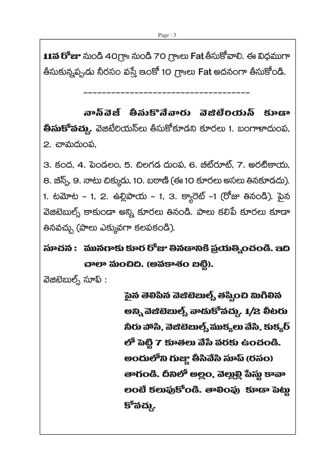 Veeramachaneni ramakrishna food program also diet pillar in telugu part rh veeramachaneniramakrishnadietprogramspot