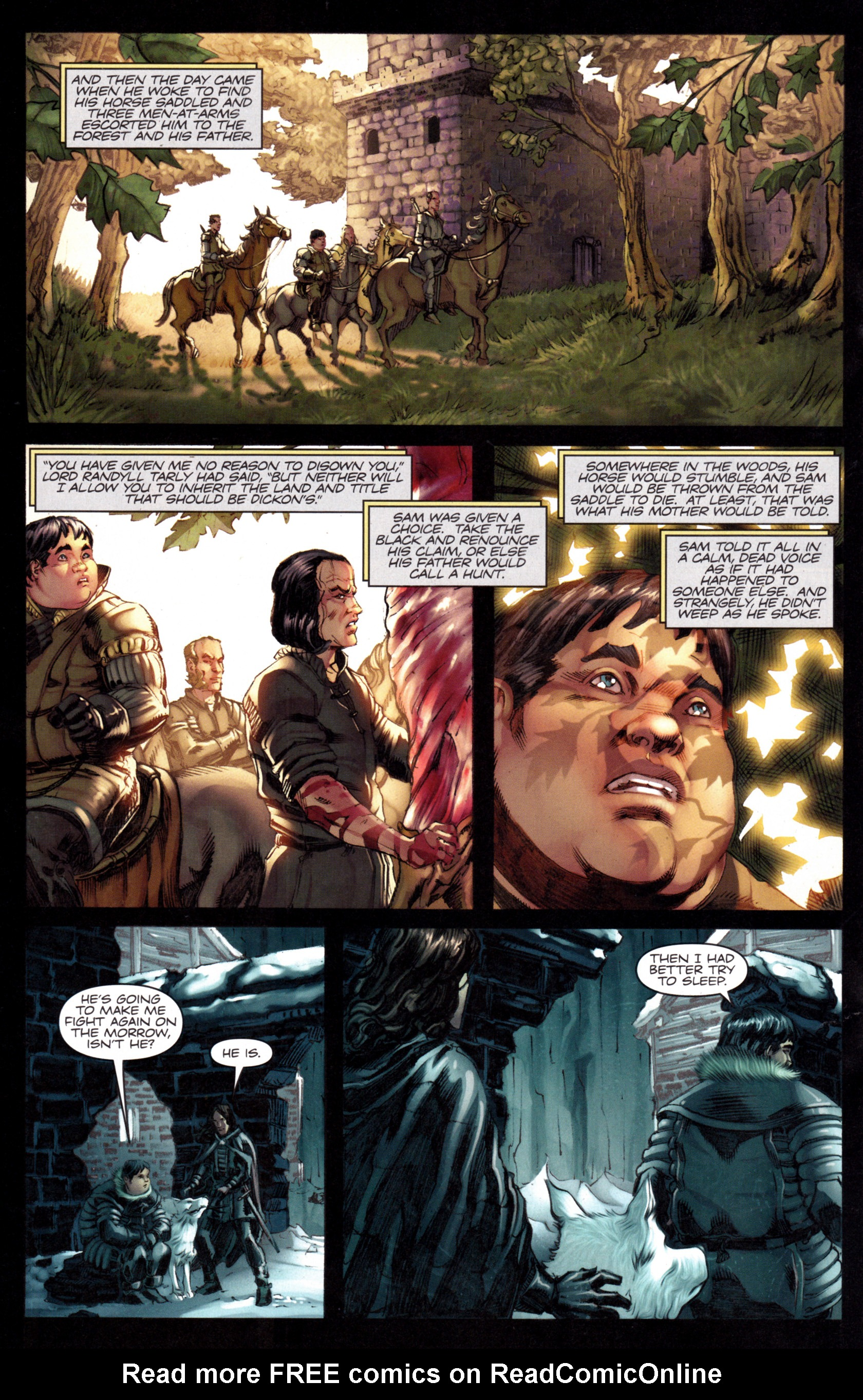 Read online A Game Of Thrones comic -  Issue #8 - 20