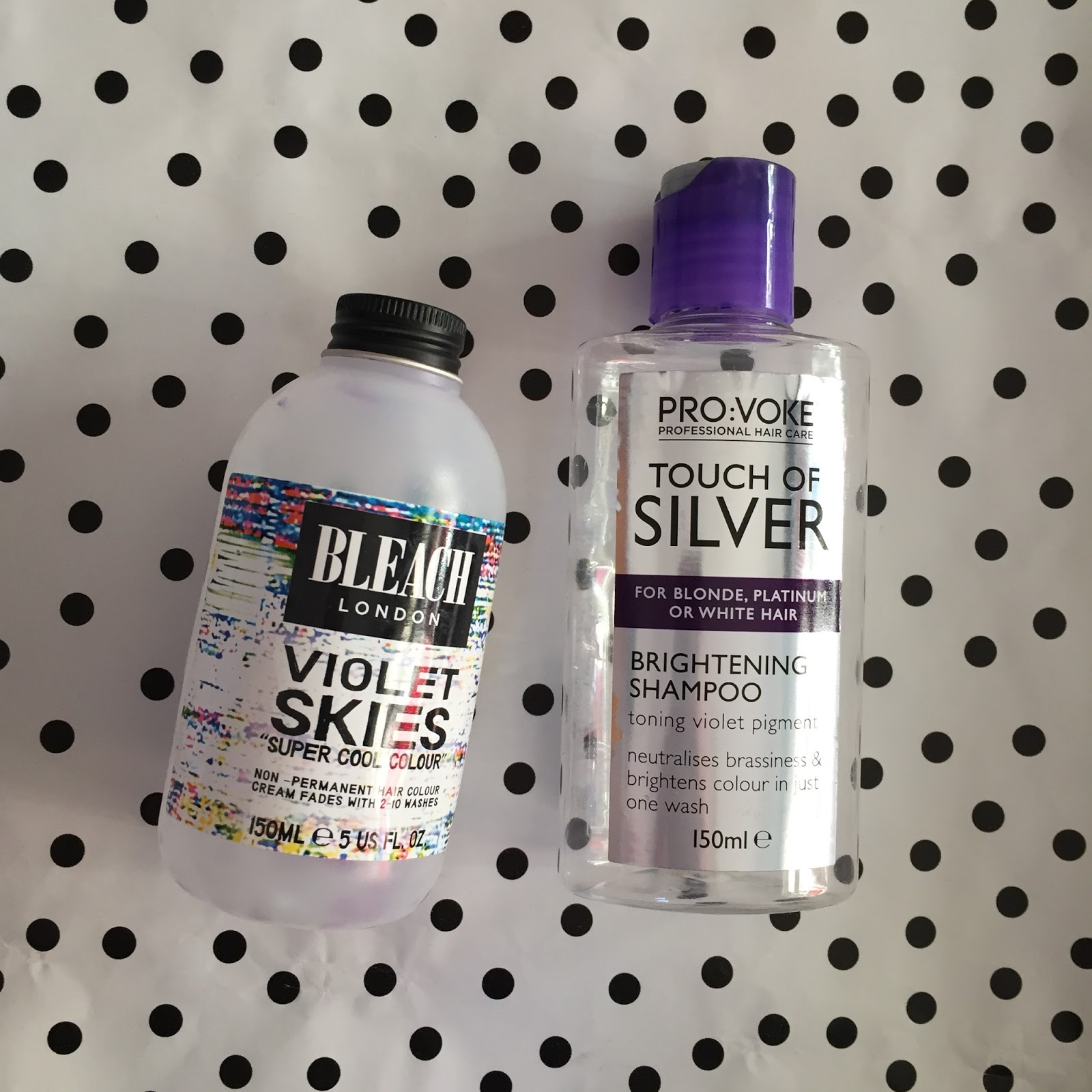 Silver hair empties