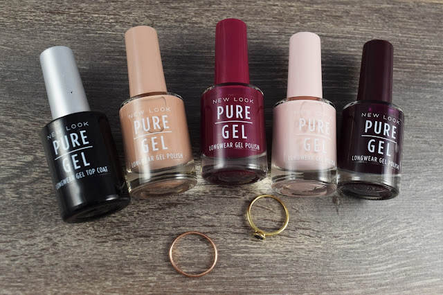 New Look Pure Colour Pure Longwear Gel Polishes