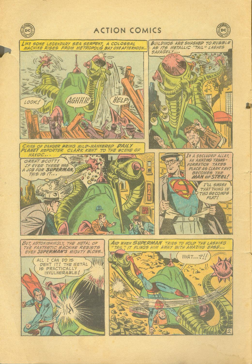 Read online Action Comics (1938) comic -  Issue #216 - 5