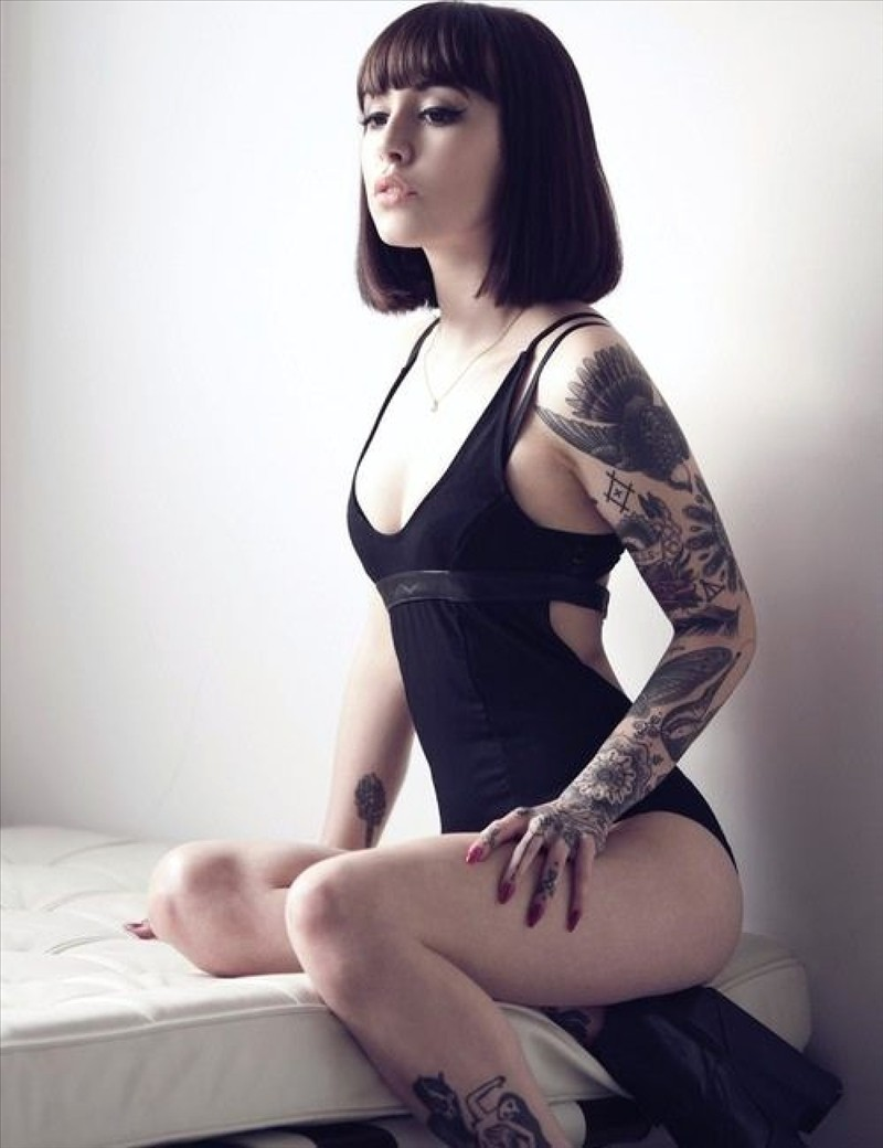 sexy girls with tattoos 3