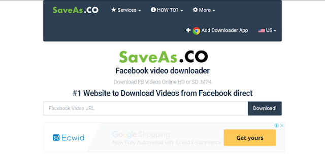 How to Download Facebook Videos with SaveAs