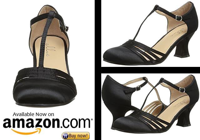 5. Ellie Shoes Women's 254 Lucille Dress Pump