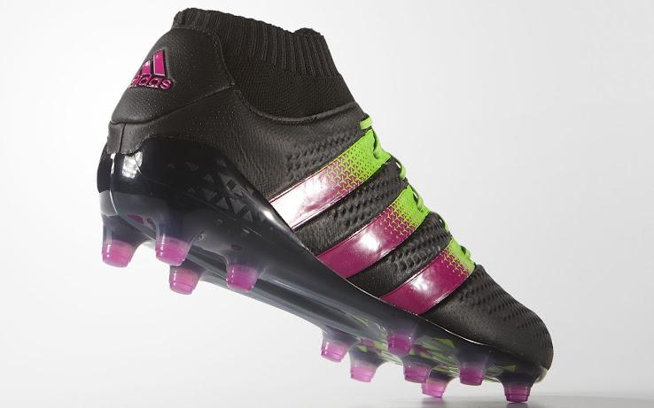 Schwarz Pink Grüne Adidas Ace 16.1 Primeknit