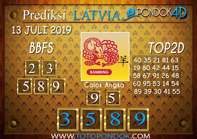 Prediksi Togel LATVIA PONDOK4D 13 JULI 2019