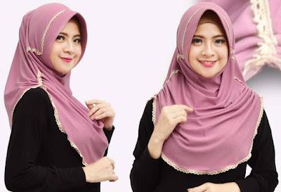 model hijab instan langsung pakai terbaru