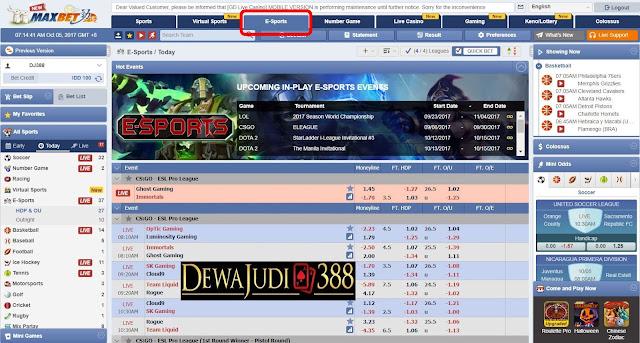 Dewajudi388 Agen Resmi Maxbet Terpercaya No1 di Indonesia