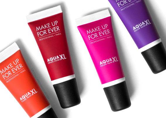 Make Up For Ever Aqua XL Color Paint M-70 M-72 M-82 M-90 Review