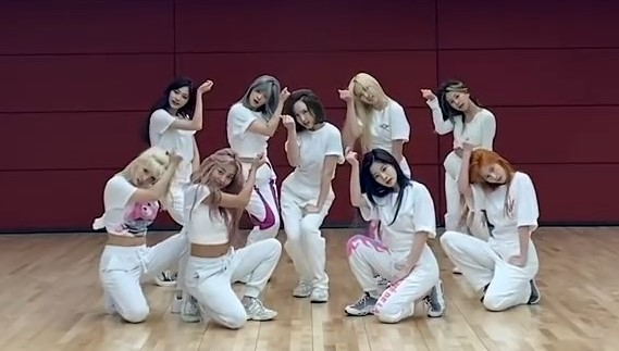 Twice More and More Dance Practice