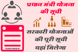 Indian Government All Schemes Yojna Details