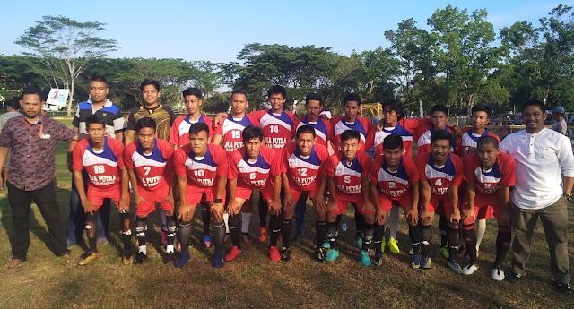 Agen Kebaikan Cup I, Kesebelasan Dua Putra Saltim Menang Telak Atas Lawari FC