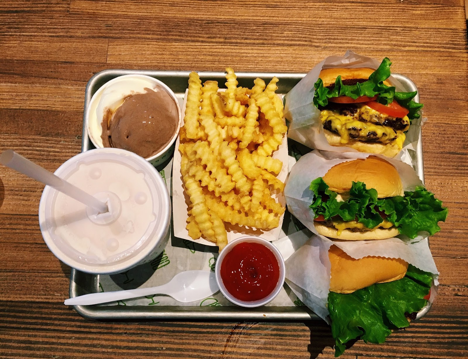 Shakeshack burger Houston