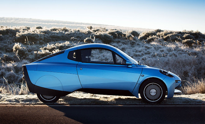 Riversimple Rasa side view