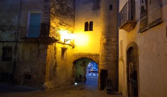 Portal de la vila closa d'Alcover