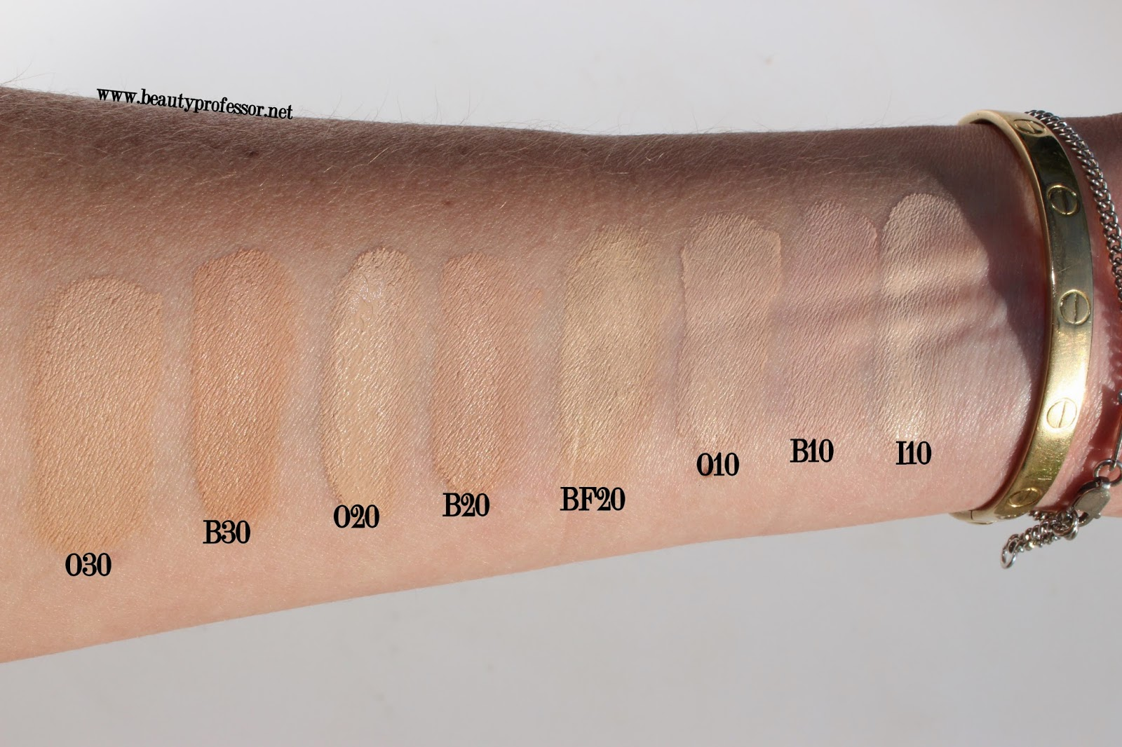 Beauty Professor: Cle de Peau Cream Foundation...Review + Swatches ...