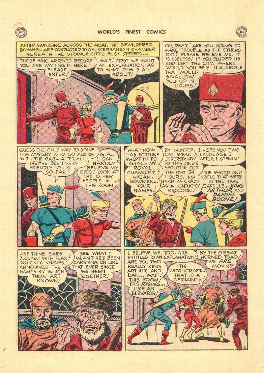 Read online World's Finest Comics comic -  Issue #52 - 45