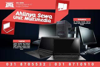 sewa dan rental laptop untuk pameran di surabaya 081259352888 (free ongkir)