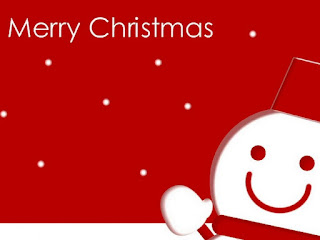 Kartu Ucapan Natal Merry Christmas 80012